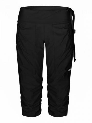 Dámské sportovní elastické kalhoty EG923 tříčtvrteční černé b03c133c8a