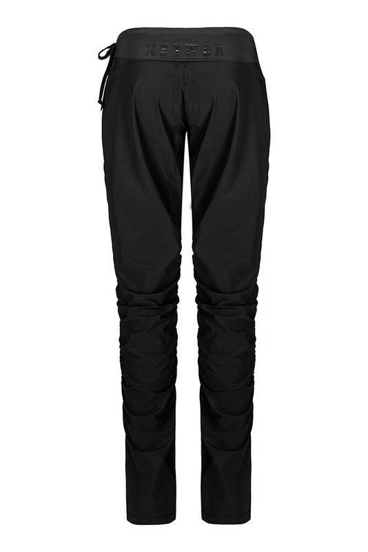 Dámské zateplené elastické kalhoty ZK923 černé ab06bf7a1c